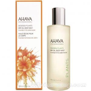 Ahava Сухое масло для тела мандарин и кедр Deadsea Plants, 100 мл.