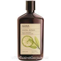 Ahava Бархатистое Крем-мыло Лимон и шалфей Mineral Botanic, 500 мл.