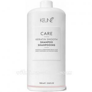 KEUNE Кондиционер Кератиновый комплекс / CARE Keratin Smoo Conditioner, 1000 мл. (21357) Кёне